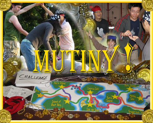 Mutiny being playtested by friends
